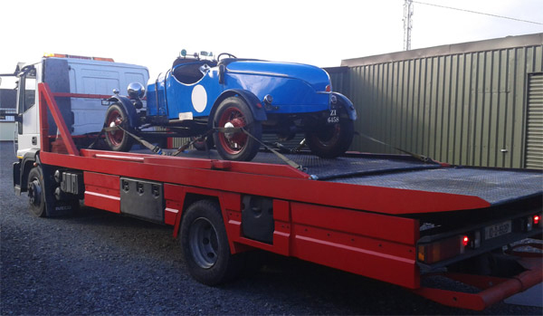 Vintage and Classic cars transported
